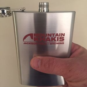 Brand New-Nice little 8oz stainless steel flask